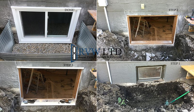 Basement Egress Window Enlargement