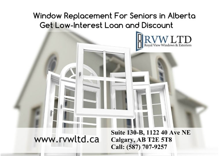 Affordable Window Replacement For Seniors in Alberta