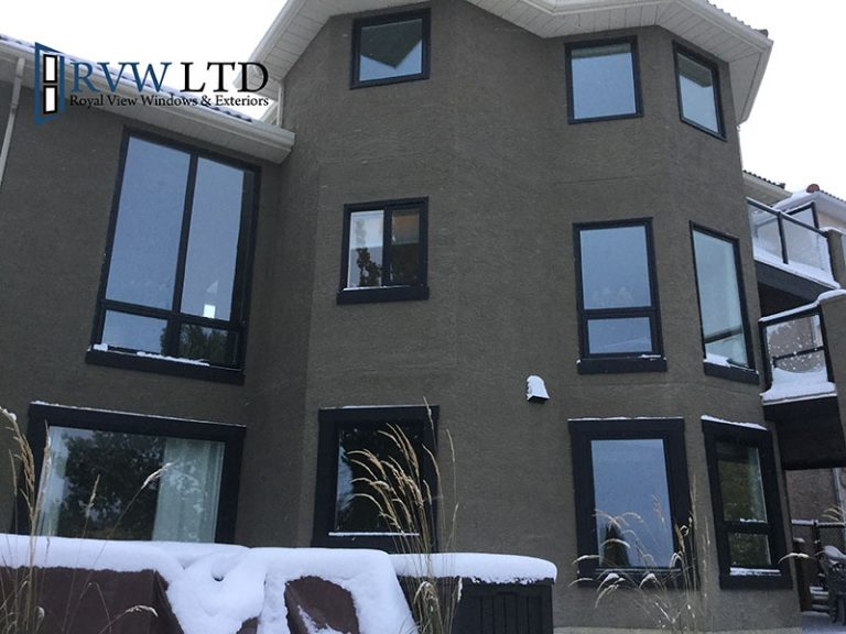 Calgary-signal-hill-royal-view-windows-black-vinyl-windows