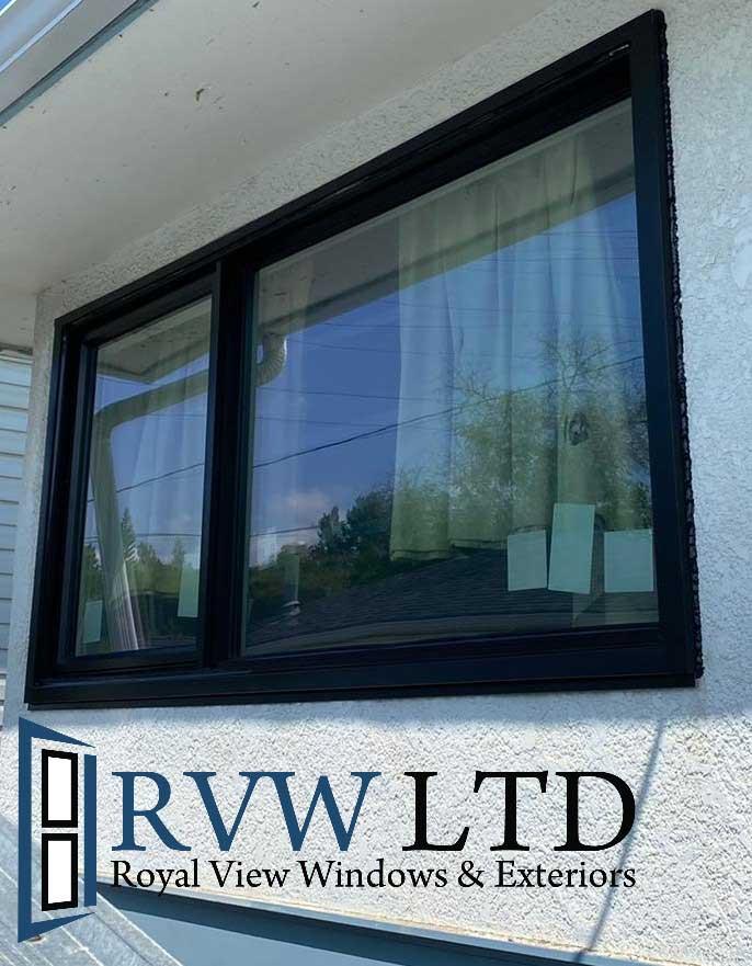 Calgary-royal-view-windows-black-casement-window